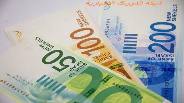 صرف العملات في فلسطين الشيكل مقابل الدولار